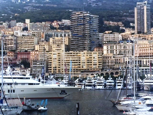 Port Hercules, the first day of The 2016 Monaco Yacht Show