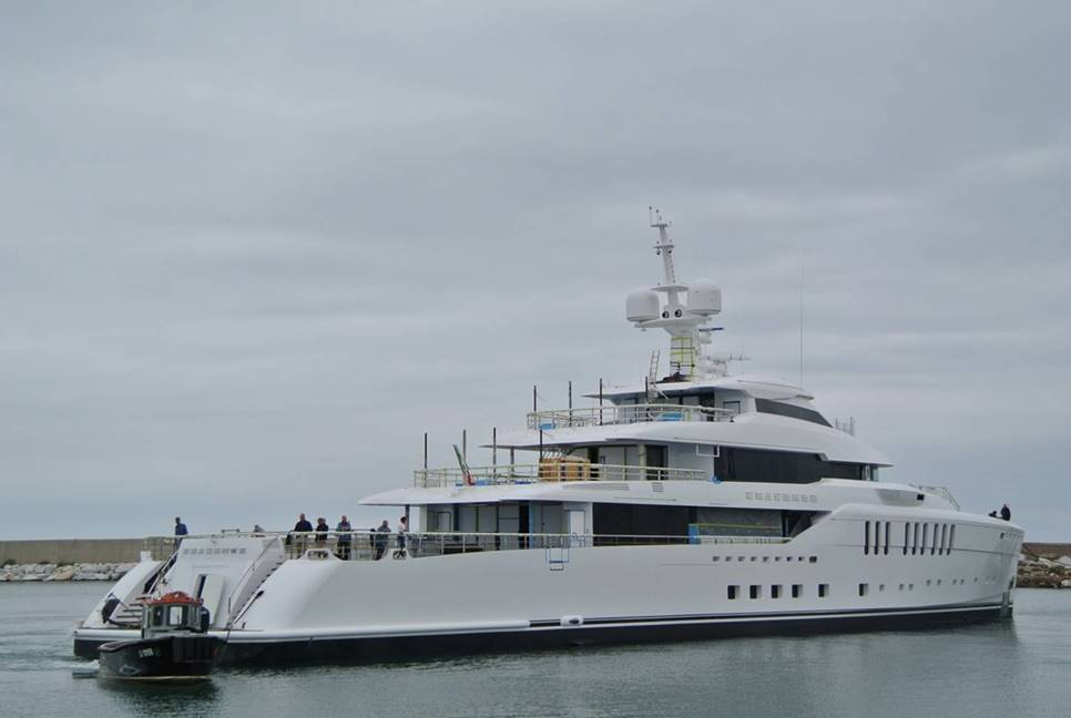 Motor Yacht Seasense Launched!